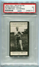 1922 Collection Felix Potin Celebrities Bombardier Billy Wells PSA 5 Boxing Card