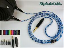 Custom Headphone Cable - 2 x 4 Pin Mini XLR Audeze LCD-2 LCD-3 LCD-X ZMF