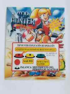 Top Hunter NEO GEO MVS Memorabilia US SHIPPER