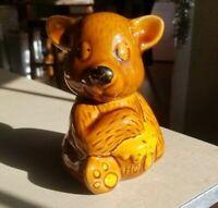 Vintage Honey Pot Bear Ceramic Jar Decor