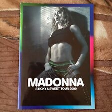 Madonna Sticky & Sweet Tour Program Tourbook 2009
