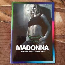 Madonna Sticky & Sweet Tour Program Tourbook 2009