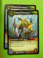 WoW World of Warcraft CCG: GIBLIN PLUNDERER 180/263 x2
