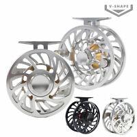 VM 5/7 7/9 9/10 10/12WT Fly Fishing Reels Best Grade Aluminum V-Spool Waterproof