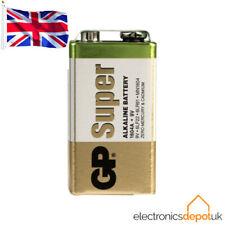 GP Batteries - 9V PP3 Super Alkaline Battery - Long Lasting High Power