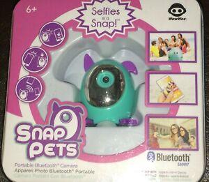 WowWee 1401 Snap Pets Dog Aqua/Light Blue/Purple Pet Dog Picture App Selfie Cam