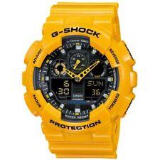 G-Shock GA100A-9A X-Large Men's Yellow Resin Sport Watch