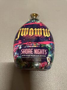 JWOWW SHORE NIGHTS After Hours Deluxe Dark Bronzer Tanning Lotion 13.5 oz Bottle