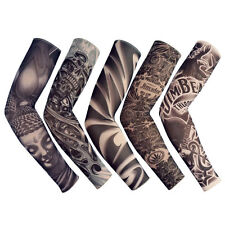 Tattoo & Body Art Fashion 6pc Tattoo Sleeves Arm Warmer Unisex Protection Outdoor Temporary Fake Tattoo Arm Sleeve Warmer Sleeve Kit Sunscre Beauty & Health