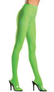Opaque Pantyhose Nylon Hosiery Neon Costume Festival Regular or Plus Size BW620