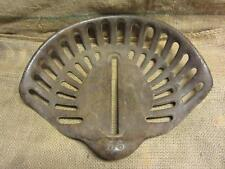 Vintage Cast Iron Tractor Seat > Antique Farm Tools Metal Equipment 7692