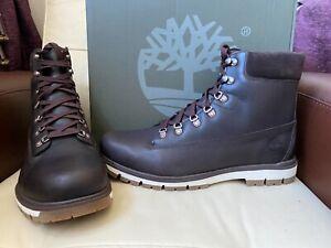 Timberland Radford  waterproof dark brown leather boots,UK size 12.5,EUR 47.5
