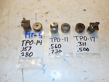 DI-ACRO PUNCH & DIE DIACRO TURRET PUNCH LOT OVAL / SLOT , PUNCH PRESS,  ,THOR