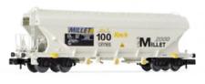 Arnold HN6386 N Gauge SBB Millet 2000 Bogie Silo Wagon V