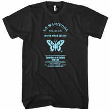 LA MARIPOSA T-SHIRT - Butterfly Mexico Vintage Sign Spanish Deco - Men and Youth