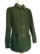 Swedish 60s Green Army Chore M59 Worker Field Jacket