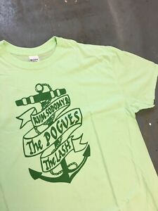 The Pogues Rum Sodomy And The Lash T-shirt Never Worn Size 2XL