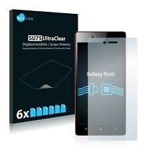 6x Savvies Screen Protector for Lenovo Vibe Shot Ultra Clear