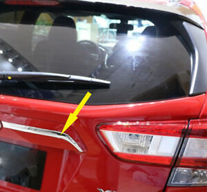 For Subaru Impreza SUV 2017-2019 Chrome Rear Tail Trunk Lid gate Cover Trim