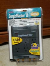 Belkin SurgeMaster II DSS 1836 J Protects DSL Cable Modem Lines Multimedia New
