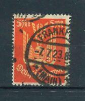 Deutsches Reich Mi-Nr. 218 gestempelt - geprüft Infla Berlin
