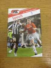 15/03/2007 AZ Alkmaar v Newcastle United [UEFA Cup] . Trusted sellers on ebay bo