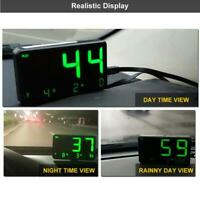 Digital GPS Speedometer Bike Truck Car HUD Head Up Display Speeding Alarm System