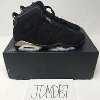 NEW Nike Air Jordan 6 VI Retro DMP Black Gold GS Size 5Y CT4964-007 GS B-Grade
