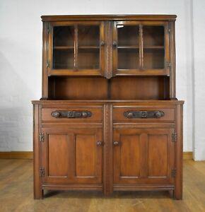 Antique Vintage EGOMME farmhouse dresser cupboard - sideboard display cabinet
