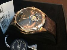 Citizen Mens Signature Grand Classic Automatic - Stainless - Leather Strap