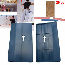 2Pack Ceiling Positioning Plate Sloped Drywall Plasterboard Fix Carpenter Tools