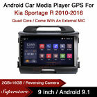 """9"""" Android 10.1 Car Stereo Media Player GPS Head Unit For Kia Sportage R 10-16"""