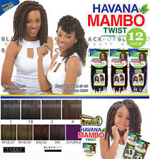"Janet Collection Havana Medium Mambo Twist Braid 12"" 4 - Med Brown"