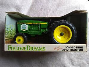 Ertl 1/16 John Deere 2640 FIELD OF DREAMS Edition Farm Tractor NIB