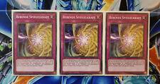 Yu-Gi-Oh! 3x Bebende Spiegelkraft SR04/LEDD Deutsch! TOP Zustand! PLAYSET!!!