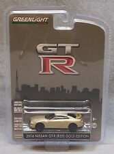 Greenlight 2016 Nissan GT-R (R35) Gold Edition - 45th Anniversary Edition
