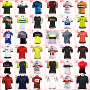 2020 New cycling Jersey Mens summer Team bike shirt short sleeve bicycle uniform