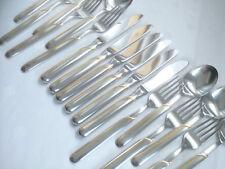 WMF onda Cromargan cubiertos de oro 6 personas cuchillo tenedor cuchara nuevo-como nuevo