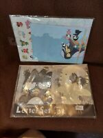RARE Assorted Japan Anime Collectibles Stationary Lot of 2 sets