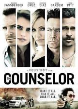 The Counselor, Good DVD, Cameron Diaz, Javier Bardem, Brad Pitt, Penelope Cruz,