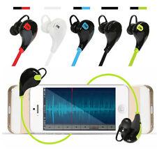 A Bluetooth 4.1 Wireless Sport Headset Earphone Stereo Bass Headphone for iphone