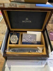 Monta Triumph Watch - 1st Generation Black Dial Complete Kit