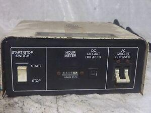 Kohler Generator Start up Panel