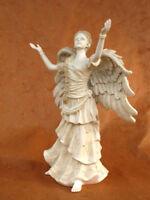 Engel Figur Skulptur Grabdekoration Grabschmuck Geburt Taufe - 20006