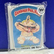 Garbage Pail Kids pinback button pin vintage 1986 sealed topps cards Smile mouth