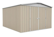 ABSCO Regent Garden Shed 3mw X 3.66md X 2.06mh Pick a Colour Classic Cream