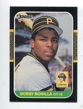 1987 Donruss #558 Bobby Bonilla Pittsburgh Pirates Rookie