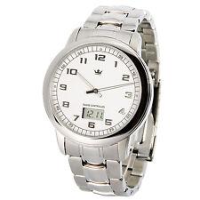 Elegante MARQUIS Herren Funkuhr (Junghans-Uhrwerk) Edelstahl Armbanduhr 964.6145
