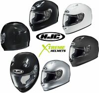 HJC FG-17 Full Face Motorcycle Helmet SNELL DOT Solids XS S M L XL 2XL 3XL