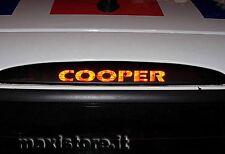 Adesivo Sticker Terzo Stop per Mini Cooper - Personalizzalo con soli 2€!